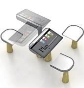 JCDecaux présente une table de jeu vidéo pour équiper les jardins publics | Projet mobile garden | Scoop.it
