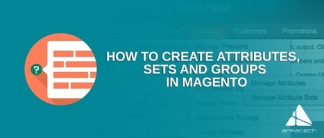 This is How to Create Attributes, Sets and Groups in Magento and Personalize Them! | Education | Scoop.it