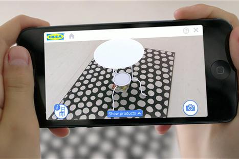 IKEA expérimente la réalité augmentée à domicile avec son nouveau catalogue !   Mobile   Scoop.it