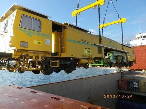 Parten las primeras máquinas para construir el trazado del AVE de ... - Vía Libre   Empresas españolas en Arabia Saudí   Scoop.it