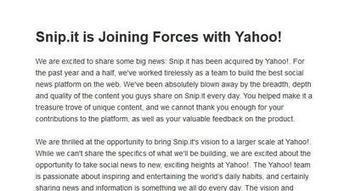 Yahoo acquires start-up Snip.it, a Pinterest for links | Content Curation and the Future of Delivery | Scoop.it