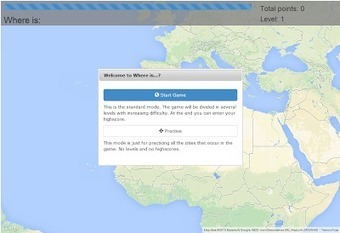 A World Geography Game - Free Technology for Teachers | Learning: English, Geog, History | Scoop.it