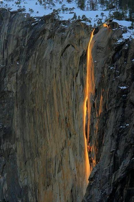 Waterfall or Firefall ? | Waterfalls | Scoop.it