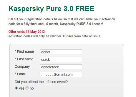 [Giveaway] Kaspersky PURE 3.0 Free 6 months | Kaspersky Lab UK | Free license for you | Bitdefender 2013 | Scoop.it