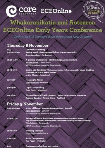 ECE Online: Whakarauikatia mai Aotearoa: Early Years Conference's blogs | ICT for teaching and learning | Scoop.it