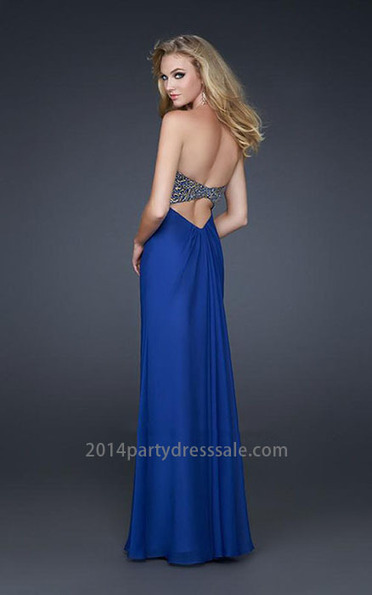 Strapless Royal-Blue Sweetheart Sequin Long Prom Dress [Sweetheart Sequin Long Prom Dress] - $177.00 : 2014 Hot Sale Dresses | Party Dresses Discount for Prom | 2013 north face jackets for anybody | Scoop.it