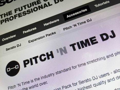 REVIEW: Serato Pitch 'N Time DJ Expansion Pack | DJing | Scoop.it