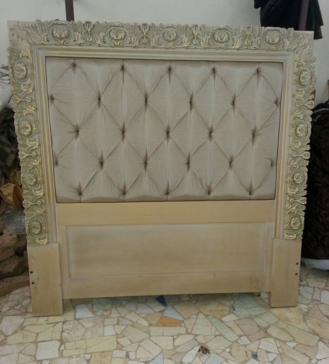 Italian Classic bed | Luxury Reproduction French antique furniture | Scoop.it