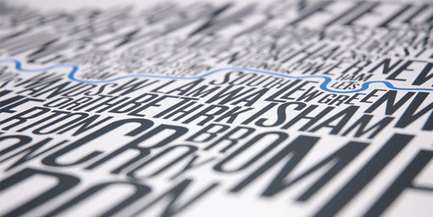design work life » FontMap Typographic Maps | Cartography | Scoop.it