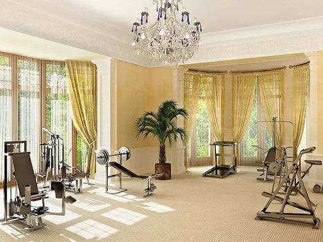 Home Gym Decor Ideas | Home Decor | Scoop.it