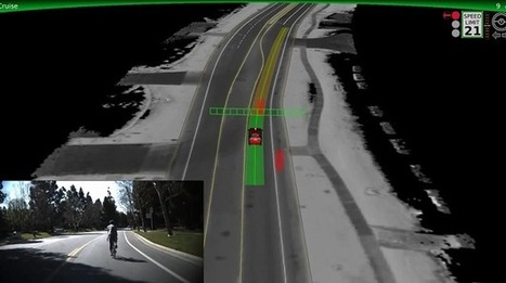 Google's self driving cars learn how not to hit pedestrians and cyclists | News | Geek.com | Technology changing the common life | Scoop.it