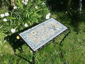 [Coup de ♥] Table en mosaïque libellule  -Instructions de montage | Best of coin des bricoleurs | Scoop.it