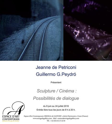 Jusqu'au 24 juillet 2016 :: exposition Jeanne de Petriconi   Guillermo G.Peydró - Espace d'Art contemporain Orenga de Gaffory (Patrimonio, Haute-Corse)   TdF     Expositions &  Spectacles   Scoop.it