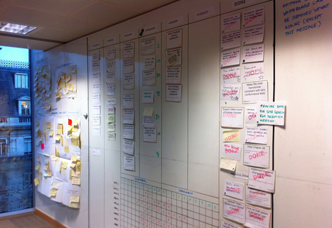 The role of the agile wall at GDS | E-learning UX | Scoop.it