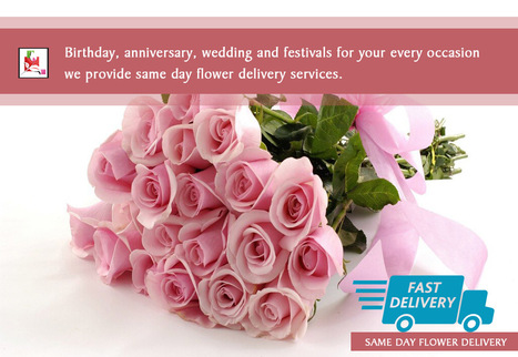 Birthday, anniversary, wedding and festivals for your every occasion we provide same day #flowers delivery services. | BlossomSquare online flowers delivery system | Scoop.it
