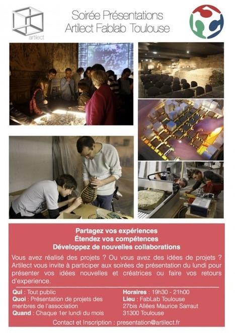 Présentation de projets   Artilect FabLab Toulouse   Artilect Fab Lab Toulouse   Scoop.it