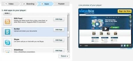 viewbix, para añadir presentaciones, llamadas de skype, documentos, feeds y otras informaciones en tus vídeos | Edu-Recursos 2.0 | Scoop.it