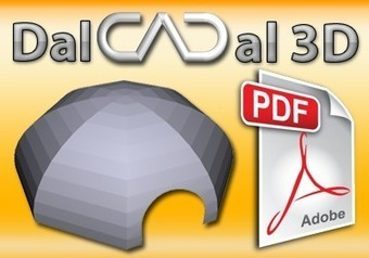 Dal CAD al PDF 3D - con software gratuito | CAD e grafica free | Scoop.it