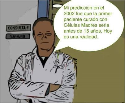 Aplicación Células Madres added a new photo. - Aplicación Células Madres | Facebook | Stem cells present and future | Scoop.it