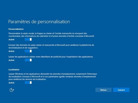 Windows 10 : un OS indiscret seulement par défaut, nos conseils | e-Marketing & stuff | Scoop.it