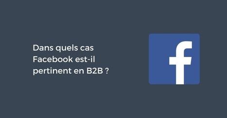 Dans quels cas Facebook est-il pertinent en B2B ? | Web Community | Scoop.it