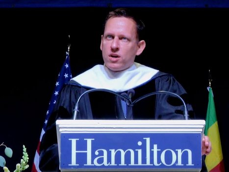 PayPal cofounder Peter Thiel warns new grads of the hidden dangers of sticking to a career path | COMMUNITY MANAGEMENT - CM2 | Scoop.it