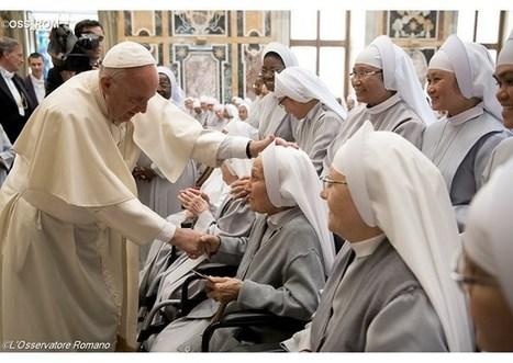 Svätý Otec prijal milosrdné sestry, ktorých rehoľným poslaním je nemocnica   Správy Výveska   Scoop.it