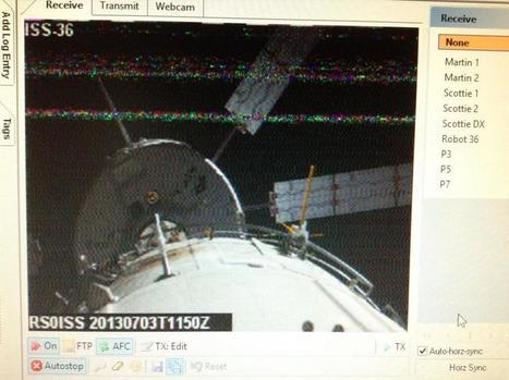 Twitter / f4gmu: Ma première image SSTV reçu ... | Promotion Radioamateur | Scoop.it