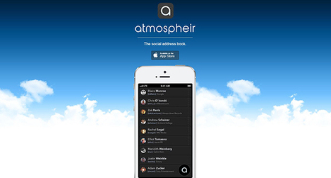 Atmospheir app: an all-in-one social contact manager | Social Media Power | Scoop.it