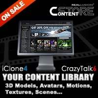 iClone 4 content to iClone 5 content in ten minutes | Wolf and Dulci Links | Scoop.it