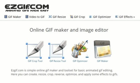 ezGIF - Animated GIF editor and GIF maker | technologies | Scoop.it