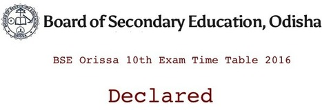 Examination Date | Find All Examination Date and Time | Education News | Scoop.it