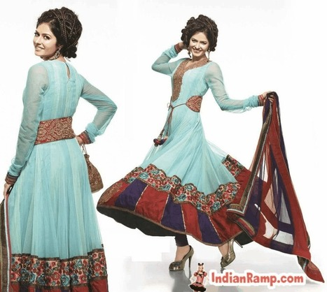 Eye Catching Masakali Anarkali Suit Design, Latest Masakali Suits for Girls | Indian Ramp | Indian Fashion Updates | Scoop.it
