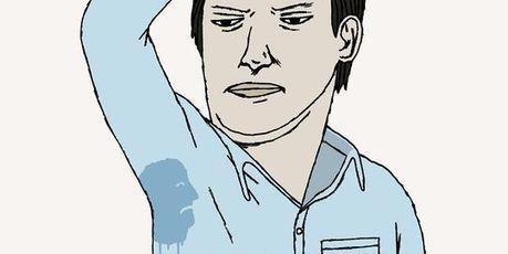 Est-ce bien raisonnable d'avoir des auréoles sous les bras ? | Un blog, une plume, un dessin | Scoop.it
