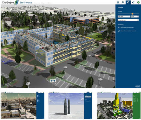 3D on ArcGIS Online: CityEngine Web Viewer | ArcGIS Resources | ArcGIS Geography | Scoop.it