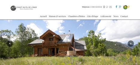 Le gite et chambres d'hôtes  Au Fil de l'Onde (Hautes Alpes) | Sites qui ont implémenté les Widgets Sitra | Scoop.it
