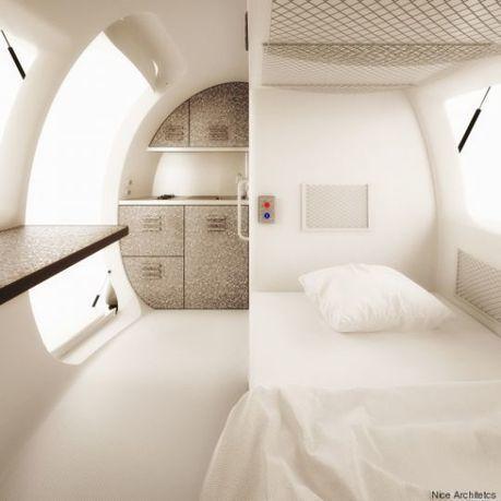 Eco capsule, la maison indépendante qui va révolutionner les voyages   Hébergements touristiques, design et innovation   Scoop.it