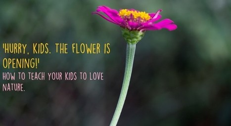 How and why to teach your kids to be close to nature | Amanvana Spa Coorg Resort | Scoop.it