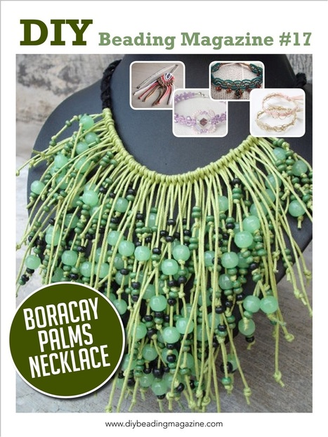 Macrame' Jewelry Making: Boracay Palms Necklace | DIY Macrame Jewelry Tutorials | Scoop.it