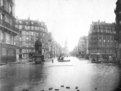 1910 - La crue de la Seine | GenealoNet | Scoop.it