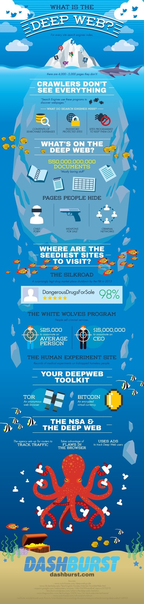 What Is the Deep Web? [INFOGRAPHIC] | warmhat | Scoop.it