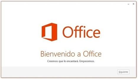 Curso gratis de Guía Office 2013. aulaClic. 1 - Conociendo Office 2013 | mere | Scoop.it