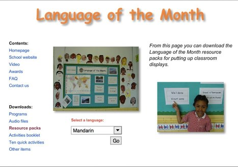 Language of the Month | One Community, Many Identities | Scoop.it