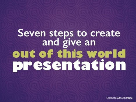 ✅ℹ️7 Steps to Better Presentations✅ | Marketing de Contenidos | Scoop.it