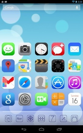 Ultimate iOS7 Apex Nova Theme v1.45 | ApkLife-Android Apps Games Themes | Android Applications And Games | Scoop.it