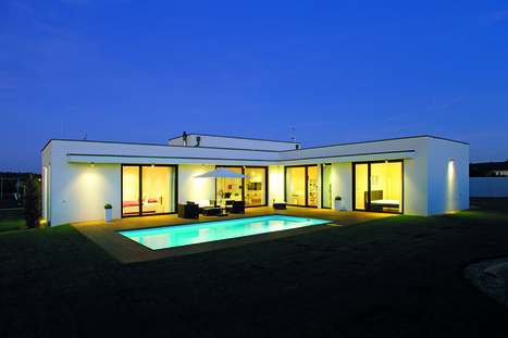 Praktický rodinný dům, kde není nic zbytečného | Domácnosť a bývanie | Scoop.it