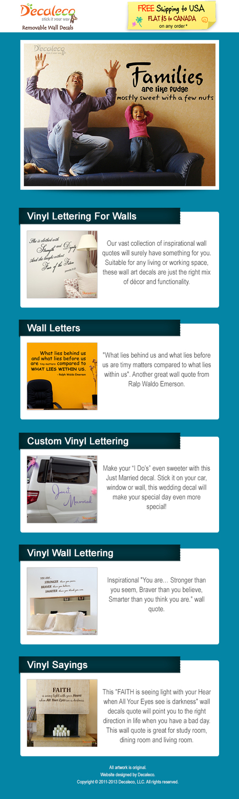 Vinyl Lettering For Walls | Vinyl Lettering For Walls | Scoop.it