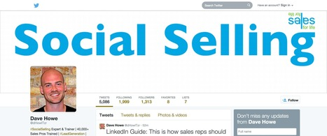 Setting Up The Quintessential Twitter Account (For Sales Pros) | Social Selling — How it can help your sales team | Scoop.it