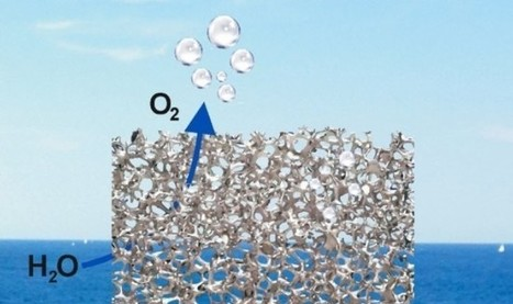 Metal Foam Electrodes Split Water With Unprecedented Efficiency | Cool Future Technologies | Scoop.it
