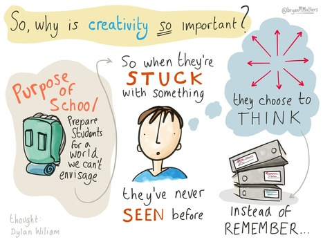 Creativity in Schools - Visual Thinkery | Live and Learn | Scoop.it